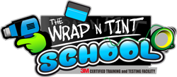 The Wrap and Tint School Лого