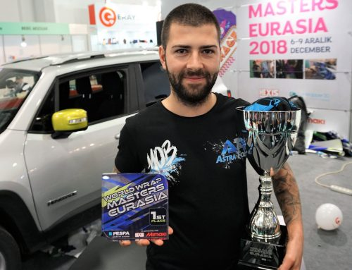 The reigning World Wrap Masters Champion, Ivan Tenchev takes home the title of Wrap Masters Eurasia 2018 winner