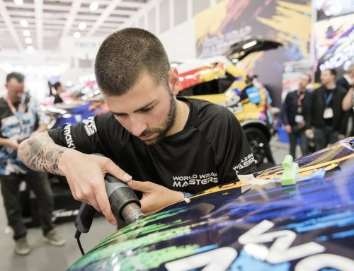 'Believe in your dreams', says FESPA World Wrap Masters champion